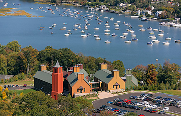 Cold Spring Harbor Lab, Hillside Campus, Location: Cold Spring Harbor, New York, Architect: Centerbrook Architects