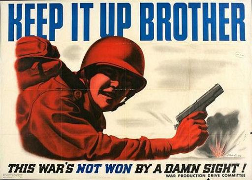 Locandina propagandistica USA  (1944)